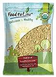 Food to Live Mezquite en polvo orgánico certificado sin OMG 4.5 Kg