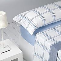 Barceló Hogar 03020280211 Juego de sábanas de franela, modelo Logan, ...