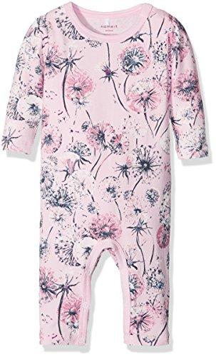 NAME IT Baby-Mädchen Body Nitcarla Bodysuit Mznb, Mehrfarbig (Barely Pink), 74