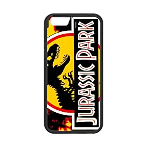 Jurassic Park iPhone 6 Plus 5.5 Inch Cell Phone Case Black CRVCDFVW42410 Cell Phone Cases Protective Personalized