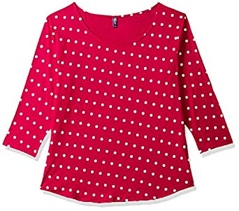 Vvoguish Women's Shirt Top (Vvpnttp1030Mgnt-L_Multi-Coloured_Large)