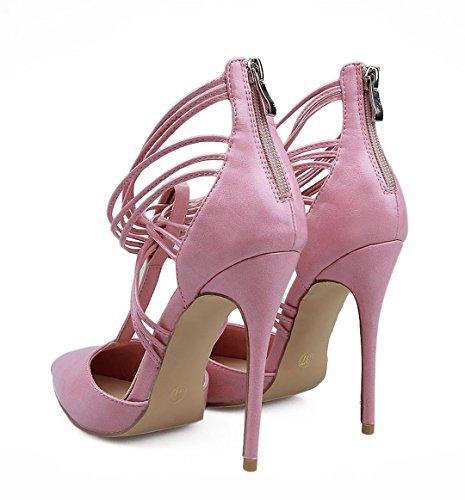 TDA - Peep-Toe donna Pink