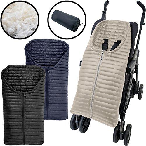 *4-Jahreszeiten DAUNEN Fußsack für Kinderwagen*