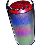 Lautsprecher Bluetooth, tragbar, wiederaufladbar ws-1602Kit Hand Freien Ihres Telefon mit mehreren Funktionen: lin-in, Radio FM, Eingänge für SD-Karte, Audio. Reichweite des Sound aus 10Meter/Farbe schwarz