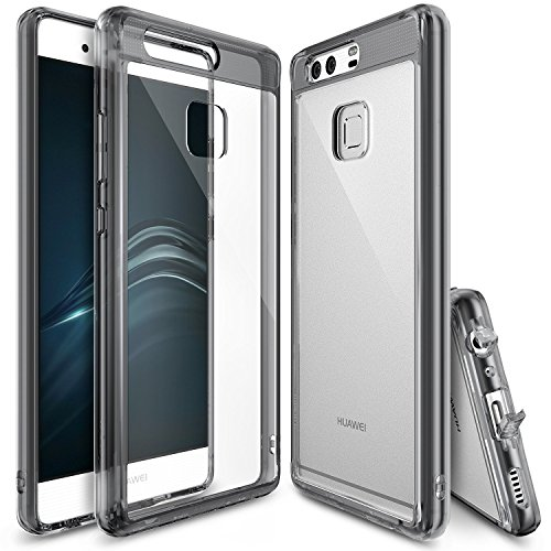 coque-huawei-p9-ringke-fusion-absorption-des-chocs-tpu-bumper-protection-goutte-anti-statique-resist