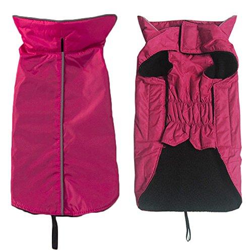 Outdoor Hunde Regenmantel Weste, warmen Haustier Kleidung Ultra Light atmungsaktiv 100{6db2e8cfbc5484eca9fbabc1330df84e29a53eb1179bd53307b08e78f39c7a09} wasserdicht regen Jacke mit Leine Loch