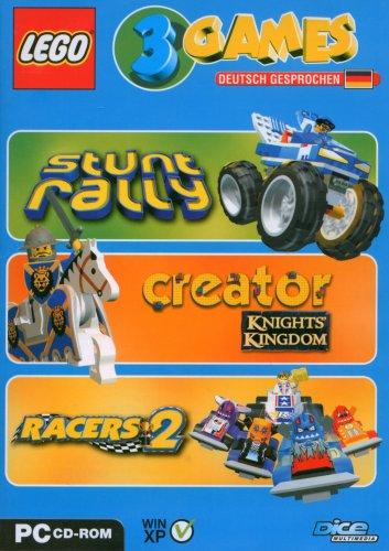 Lego 3 Games Pack (Stunt Rally / Creator Knights Kingdom / Racers 2) (Lego Stunt Rally)