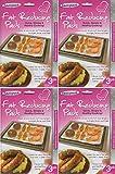 4 x 3 paquet GRAISSE Réducteur dosettes, rapide simple & SAIN cuisinière ! Idéal pour grille & Four