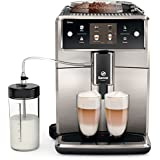 Saeco SM7683/00 Xelsis Kaffeevollautomat, innovativer Touchscreen, edelstahl / schwarz