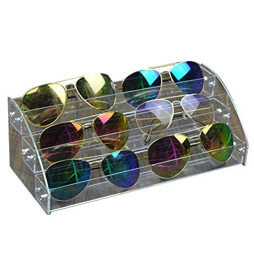 mbition Klare Brille Vitrine Inhaber Acryl Sonnenbrille Veranstalter Brillen Ablage Box