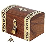 Sparbüchse zum Münzensammeln Indische- Für Erwachsene und Kinder- Urlaubssparbüchse aus Holz