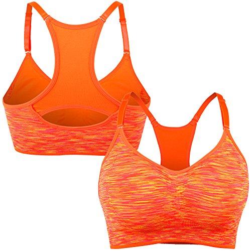 Libella - Soutien-gorge - Uni - Femme - Push Up 3714 Orange-2