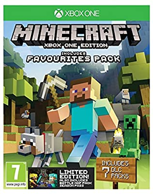 Minecraft Favourites Bundle - Includes Minecraft Favourites plus Battle Map Pack Season Pass (Xbox One)
