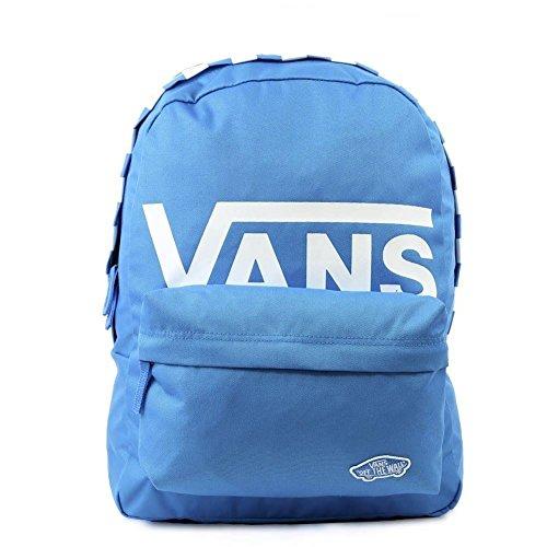 Imagen de vans sporty realm backpack , 42cm, 22l, french azul checker