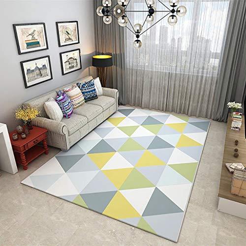 Max tappeto rettangolare nordico per divano da salotto tappeto coperta da tavolo da tè lavabile - spessore 8mm home (dimensioni : 160x230cm)