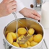 Kentop 1 pieza Prensa de patata para puré de papas