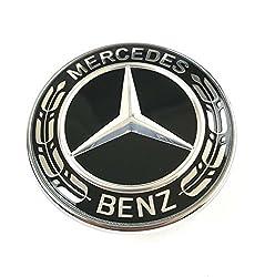 Original Mercedes-Benz Motorhauben Emblem Schwarz