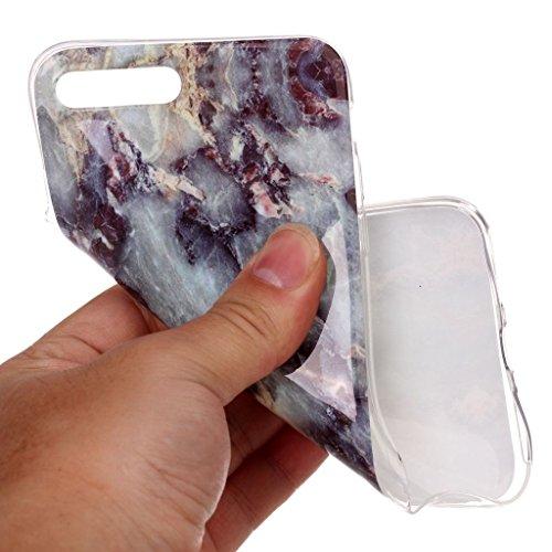 iPhone SE Plus Hülle,iPhone 5s Hülle,Mo-Beauty® Blau Marmor Serie Flexible TPU Silikon Schutz Handy Hülle Handytasche HandyHülle Etui Schale Case Cover Tasche Schutzhülle für iPhone 5/5S/SE + 1 x Disp Blau
