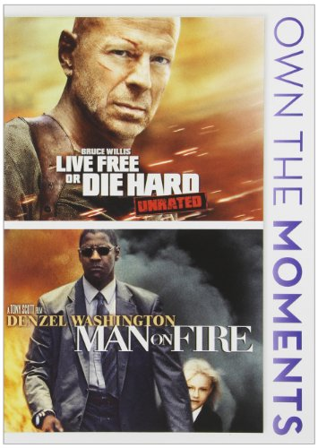 Live Free Or Die Hard / Man On Fire / (Ws) [DVD] [Region 1] [NTSC] [US Import] (- Dvd-live Free, Die Hard)