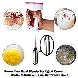 Kitchen Utensil Kitchenware Curd Maker/Free Hand Blender for Egg & Cream Beater, Milkshake, Lassi, Butter Milk Mixer BeaterK