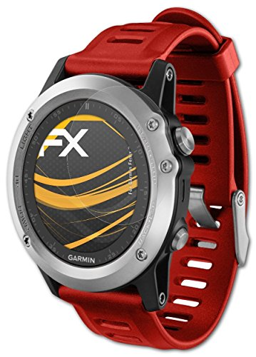 3-x-atFoliX-Protecteur-dcran-Garmin-Fenix-3-3-HR-Film-Protection-dcran-FX-Antireflex-anti-reflet