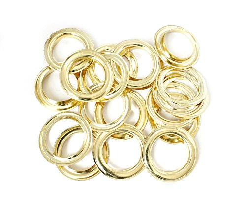Preisvergleich Produktbild 40mm Gold Ösen und Unterlegscheiben für manuelle Zange, Maschine,, Home Reparatur Konstruktion, Kleidung, Lederwaren, Banner, und Scrapbooking von Hochzeit Decor, bronze