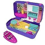 Polly Pocket- Cofanetto Zainetto dell'Estate, Playset con 2 Bambole, Un Micro Veicolo e Tanti Accessori, FRY40