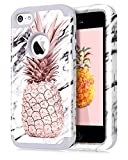 Dailylux Coque iPhone 5C,5C Coque Housse Marbre Pattern Protection Anti-Choc...