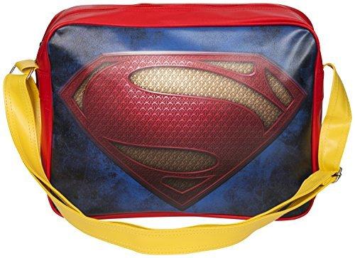 Superman-Borsa a tracolla stile retrò Borsa sportiva Red M