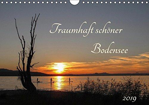 Traumhaft schöner Bodensee (Wandkalender 2019 DIN A4 quer): Kalender mit Foto-Motiven vom westlichen Bodensee (Monatskalender, 14 Seiten ) (CALVENDO Natur)