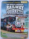 The World's Greatest Railway Journeys USA/Canada/Australasia 8 DVD Tin Box set