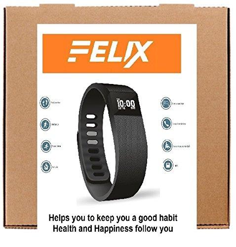 Felix Fitness Band FT-007 (Black)