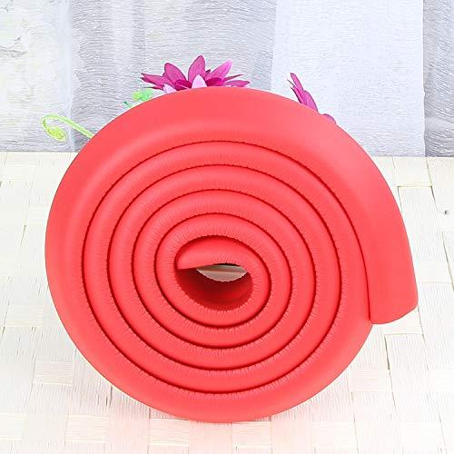 2 m, Kantenschutz, für Kissen-Collision Strip Ladekantenschutz (L-Typ) Rot 35X12MM -