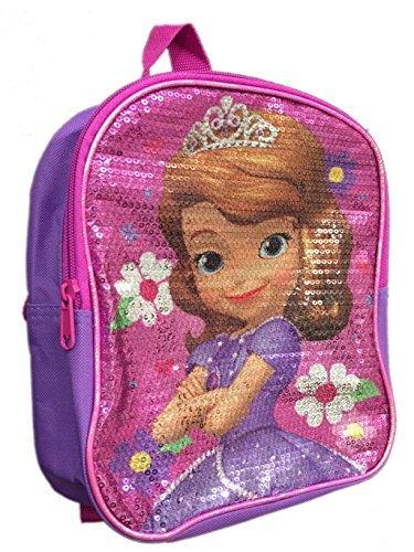 Disney Mädchen Sofia die Erste Pailletten Mini Rucksack 25,4cm