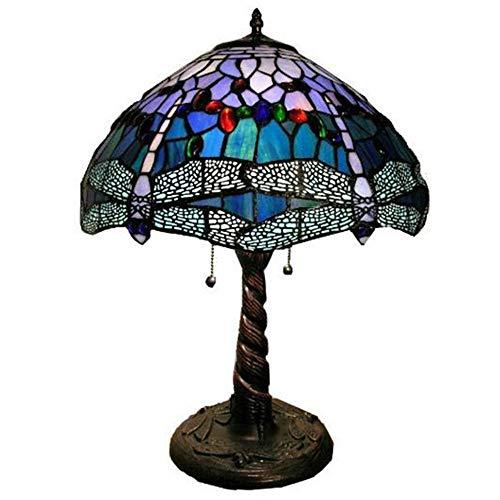 Nachttischlampe Tiffany Lights Atmosphäre Ästhetische Tischlampe Leselampe Zimmer Lampe 12 Zoll Art Deco Jugendstil -