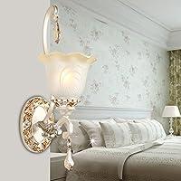 BBSLT Corridoio di stile europeo soggiorno parete giardino lampada comodino