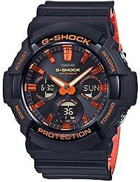Casio Analog-Digital Black Dial Men's Watch-GAS-100BR-1ADR (G921)