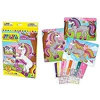 The Orb Factory Sticky Mosaics Sparkling Unicorns Kit