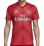 adidas Real Madrid Third–Camiseta de fútbol para Hombre, Color Real Coral, Vivid Red (Talla M)