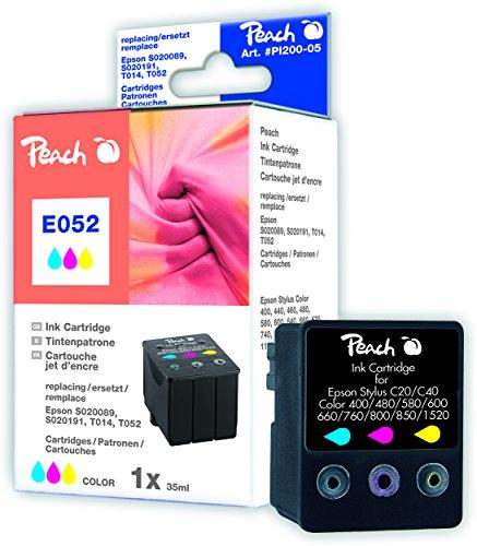 Preisvergleich Produktbild Peach Tintenpatrone color kompatibel zu Epson T014,  ,  T052,  S020089,  S020191