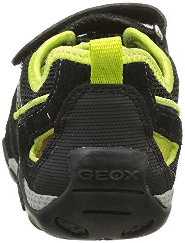 Geox Aragon B, Sandales garçon Noir (C0802)