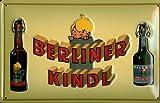 Blechschild Berliner Kindl Bier (2) Biere Nostalgieschild Bierwerbung Schild Berlin