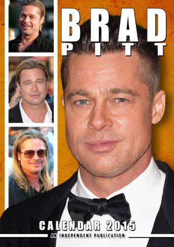 Click for larger image of Brad Pitt 2015 Calendar By Dream