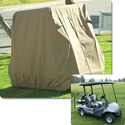 HAHU Waterproof 4 Passenger Golf Car Cart Cover - Golfwagen Abdeckung Abdeckplane - 108