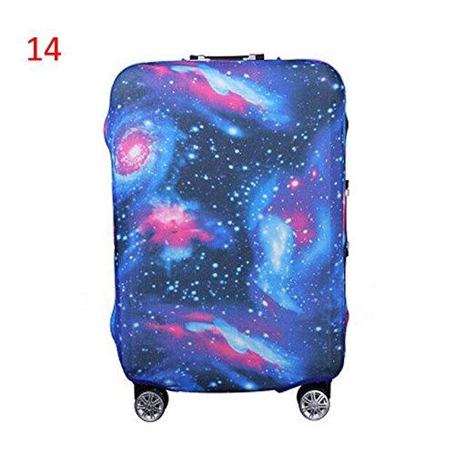Haodasi Neu Elastisch Dustproof Gepäck Koffer Trolley Schutz Tasche Abdeckung Anti-Kratzer #14