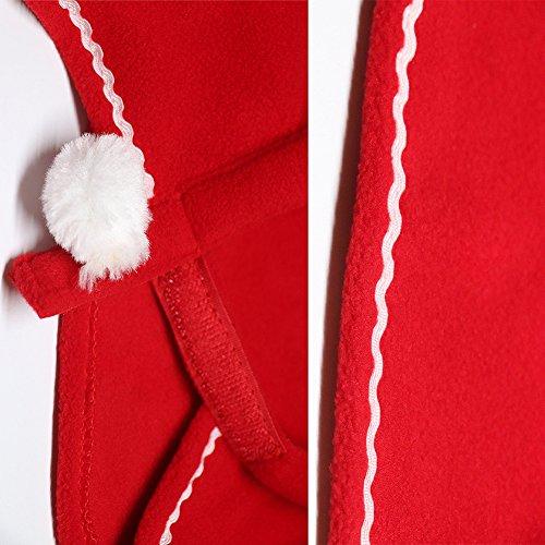 Imagen de bello luna pet christmas cloak christmas gifts collection disfraz de mascota alternativa