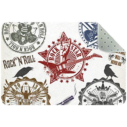 DragonSwordlinsu - Juego Sellos símbolos Rock'n'Roll