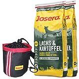 Josera 2 x 15 kg Lachs & Kartoffel Knuspiebag