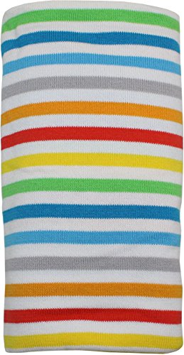 ImseVimse Pucktuch Swaddling Blanket aus Bio-Baumwolle (happy stripes)