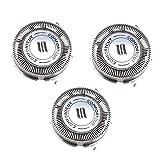 OTOTEC 3X Têtes de Rasoir SH30 / 52 Lames de Rechange pour Philips Norelco Series 3000 2000 1000 S738